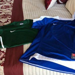 Nike Dri-fit shirts, never worn